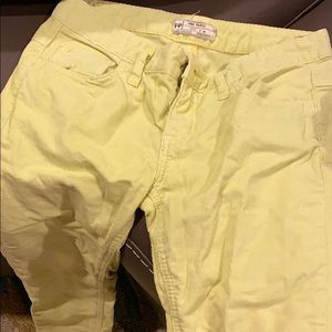 Free People bright fitted corduroys